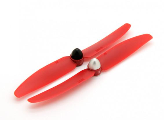 Gemfan Multi-rotor 5x3 Propeller self tightening (Red)