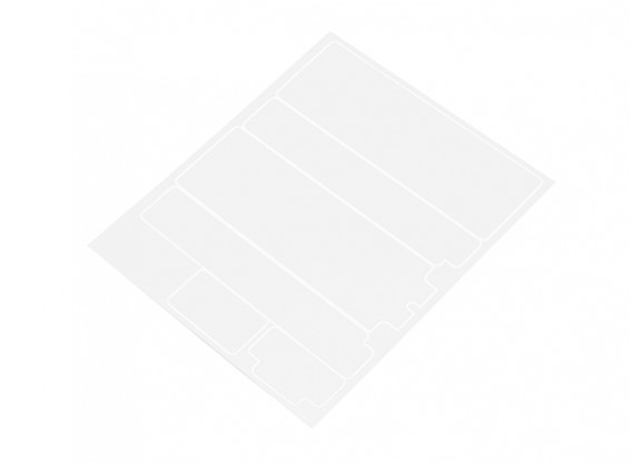 TrackStar Pre-Cut Battery Label Covers for Standard 2S Hardcase (1pc)