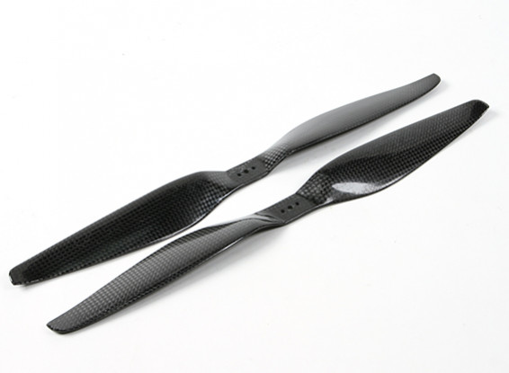 Dynam 14x5.5 Carbon Fiber Propellers for Multirotors (CW and CCW) (1pair)