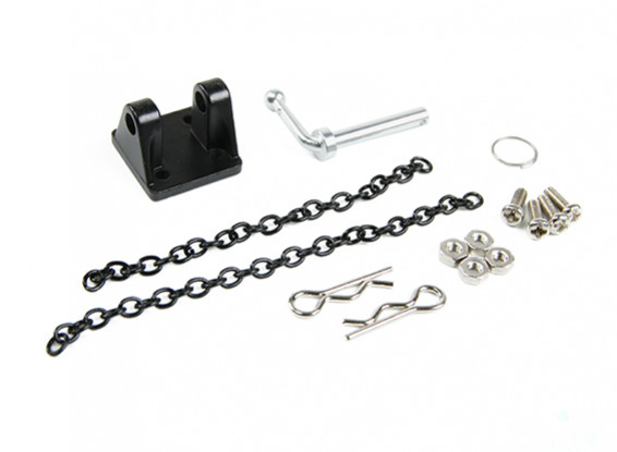 1/10 Scale RC Alloy Dragging Chain Hook for Rock Crawler