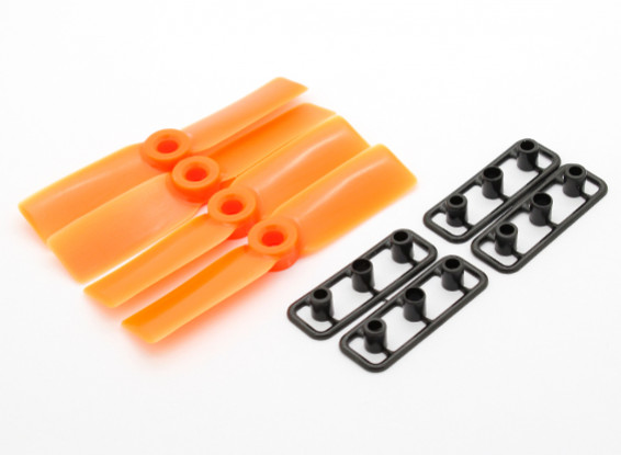 GemFan Bull Nose 3030 ABS Propellers CW/CCW Set Orange (2 pairs)