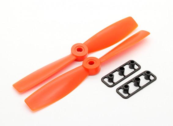 GemFan Bull Nose 5046 GRP/Nylon Propellers CW/CCW Set Orange (1 pair)
