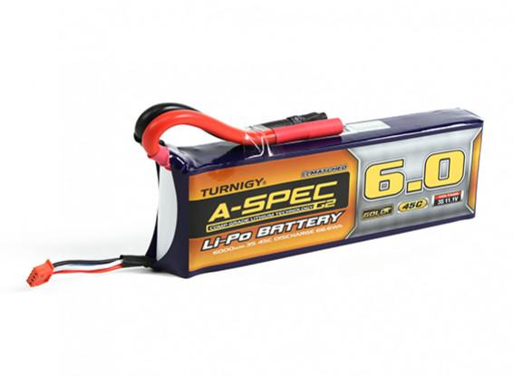 Turnigy nano-tech A-SPEC G2 6000mah 3S 45C Lipo Pack