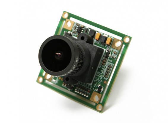 QUANUM 700TVL SONY 1/3 Camera 2.1mm Lens (NTSC)