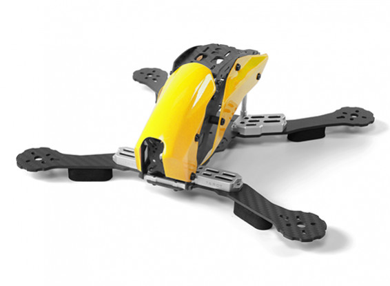 Tarot TL280C Space Through Machine FPV Full Carbon Fiber (Yellow) Frame Only