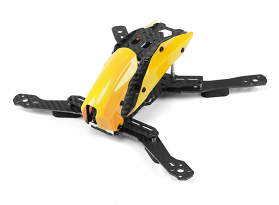 Tarot TL280H Space Through Machine FPV Half Carbon Fiber (Yellow) Frame Only