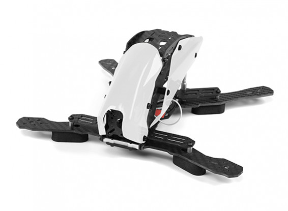 Tarot TL250H Space Through Machine FPV Half Carbon Fiber (White) Frame Only