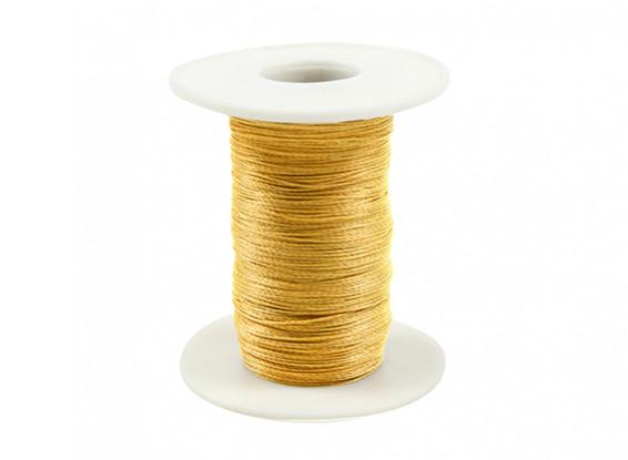 Kevlar Thread 0.4mm dia Yellow