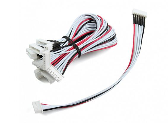 JST-XH 6S Wire Extension 20cm (10pcs/bag)