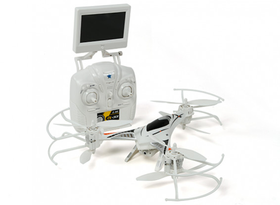 CX-33 Tricopter (Ready to Fly) w/5.8Ghz Tx, Monitor, HD Camera, 2.4Ghz Mode 1 / Mode 2 Switchable Tx