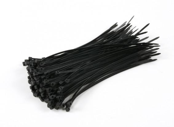 Cable Ties 150mm x 3mm Black (100pcs)
