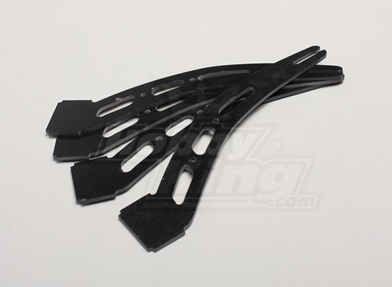 HobbyKing Y650 Scorpion Glass Fiber Landing Skid Supports (4pcs/bag)