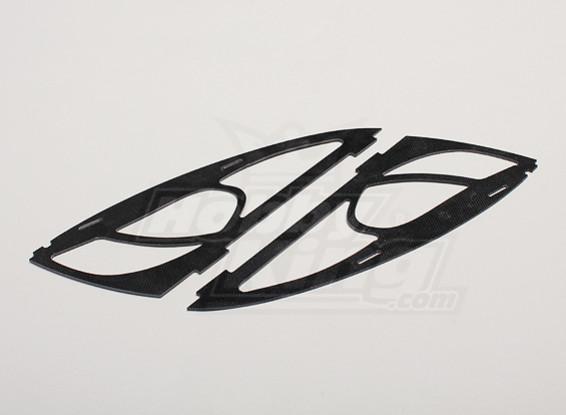 Hobbyking Y650 Scorpion Glass Fiber Frame Cheeks (2pcs/bag)