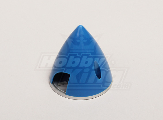 Nylon Spinner with Alloy Backplate 51mm Blue