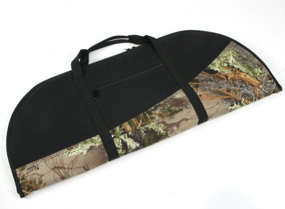 Padded Recurve Bow Bag - Woodland Camo/Black