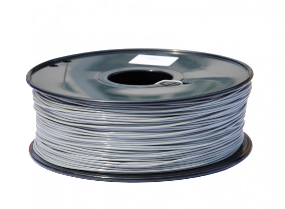 HobbyKing 3D Printer Filament 1.75mm PLA 1KG Spool (Grey)