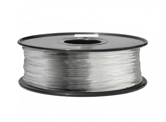 HobbyKing 3D Printer Filament 1.75mm ABS 1KG Spool (Fully Transparent)