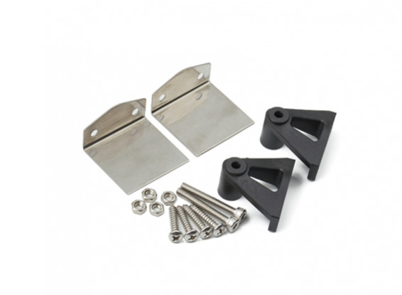HydroPro Inception Racing Boat - Stainless Steel Trim Tabs and Plastic Mount Set