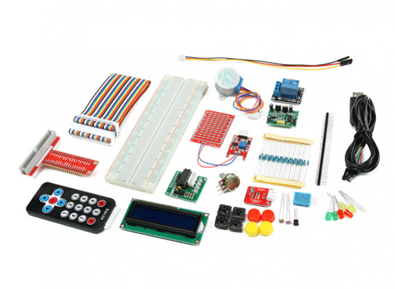 Raspberry Pi Starter Kit with IR Remote Control