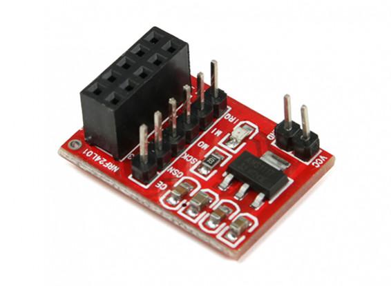 NRF24L01 2.4GHz Transceiver Socket Adapter Board