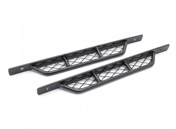 1/10 Scale Metal Side Rock Sliders for Defender 90/110