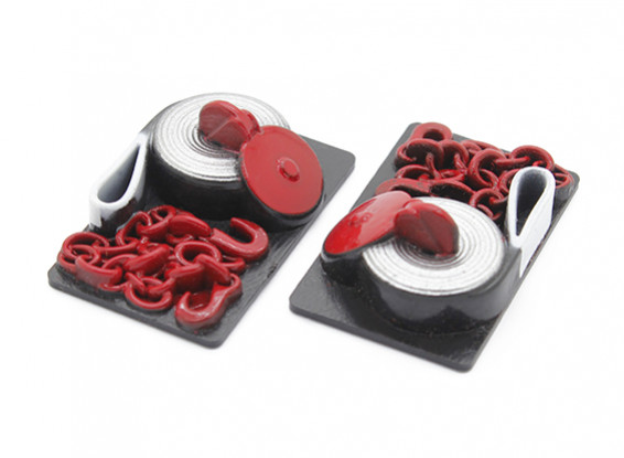 1/10 Scale Simulated Chain, Hook and Line