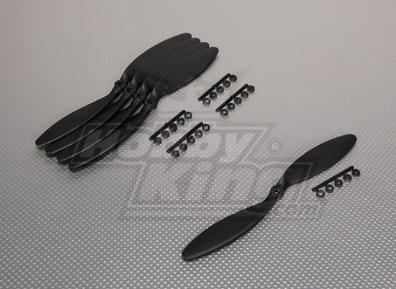 GWS Style 9x3.8 Slowfly Propeller Black (5pcs)