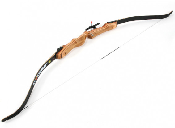 """Laminated Wood Take-Down Recurve Bow 70""""/26 lbs R/H"""