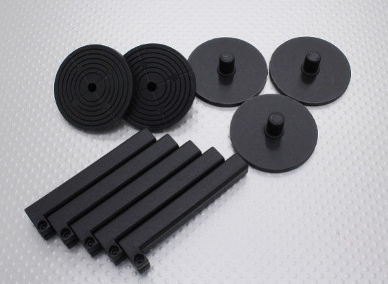 Electric Motor Stand Off Mounts 10mm (5pc)