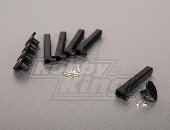 Electric Motor StandOff Mounts 10mm Small base (5pcs/bag)