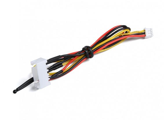 4Cell Flight Pack Voltage & Temperature Sensor for OrangeRx Telemetry system.