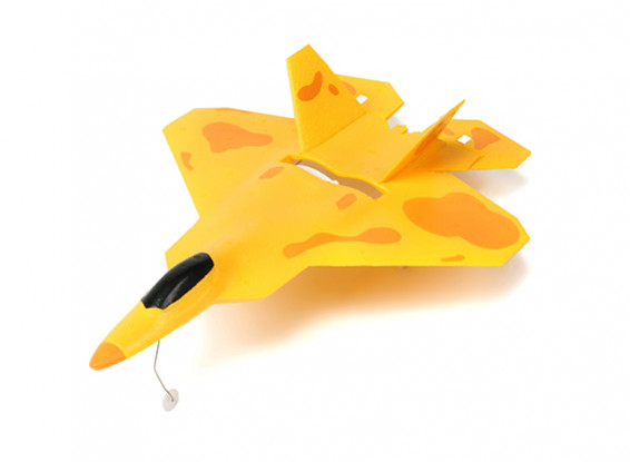 Micro F22 Jet Fighter w/Auto Takeoff and Stability Control RTF (Brushless Motor Mode2)