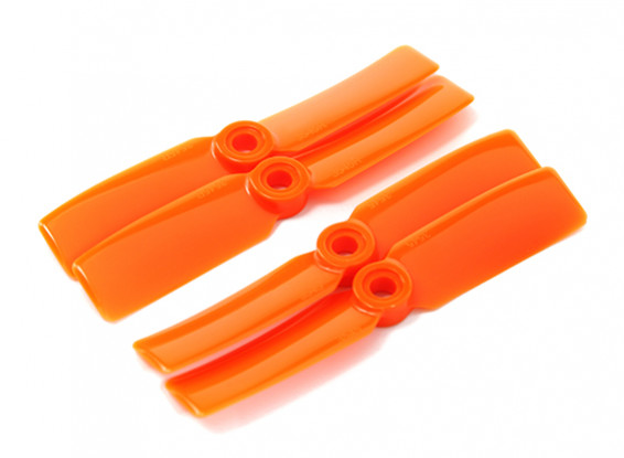 DYS T3545-O 3.5x4.5 CW/CCW (pair) - 2pairs/pack Orange