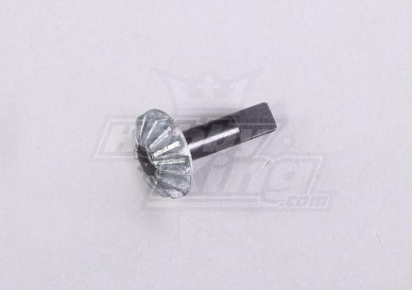 Diff. Bevel Gear B. W/Saft & E-Clip (1Pc/Bag) - A2016T and A3002