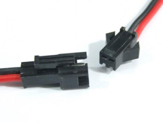 2 PIN connector Male/Female 8cm each.