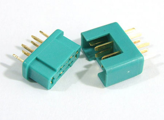 MPX Connector 1 pair (2pc Male/Female)