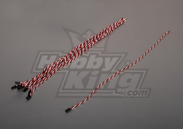 45cm Male 22AWG Twisted (10pcs/bag)