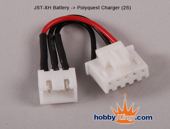 JST Battery - Polyquest charger 2S
