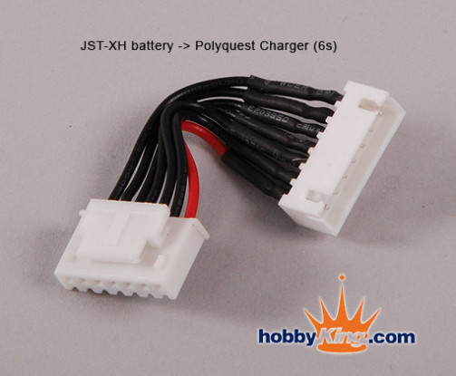 JST Battery - Polyquest charger 6S