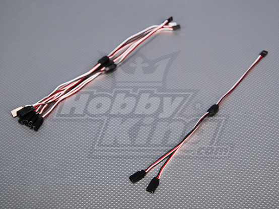 300mm Servo Y Lead (Futaba) (5pcs/bag)