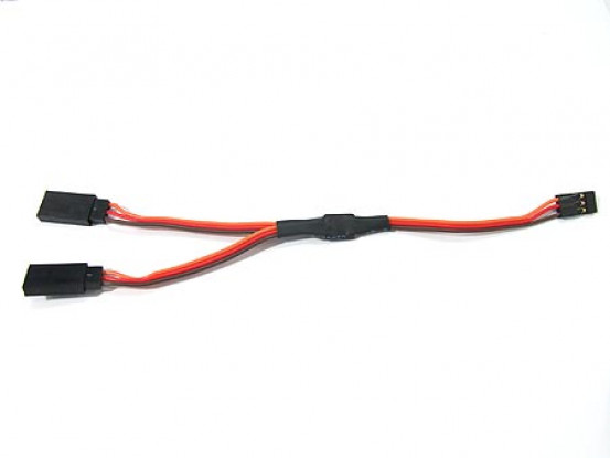 JR Y Servo Lead 15CM Length