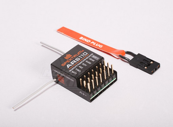 AR6110 DSM2 Microlite 6Ch Park Flyer Receiver