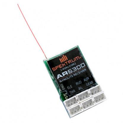 AR6300 DSM2 Nanolite 6-Channel Receiver, Air