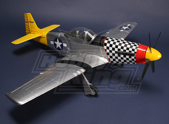 Hobby King P-51D Mustang Plug-n-Fly