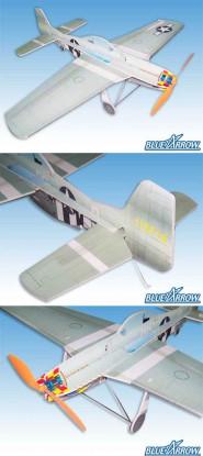 Blue Arrow P51D Shock Flyer kit (Free Post)