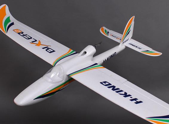 H-King Bixler 2 EPO 1500mm w/ Motor, Servos and Optional Flaps (ARF)