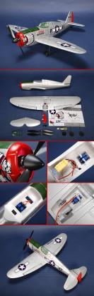 P-47 Thunder Fighter R/C Plane EPO Plug-n-Fly