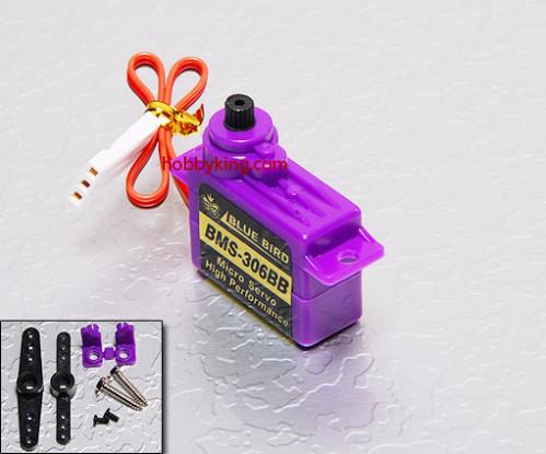 BMS-306BB Micro Servo 1.1kg / .10sec / 6.5g