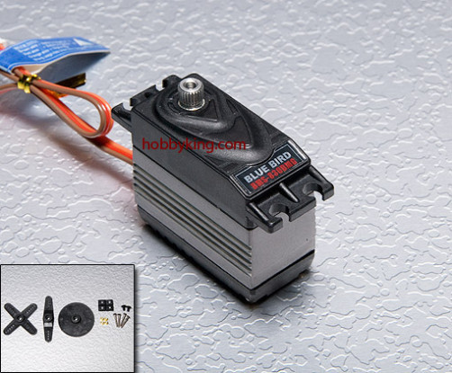 BMS-830DMGplusHS High Performance Digital Servo (Metal Gear) 11.6kg / .12sec / 61g