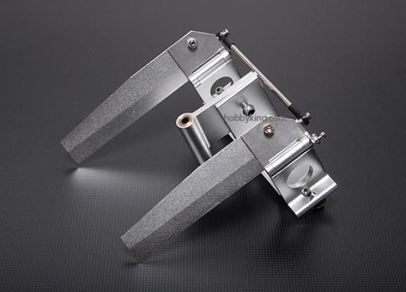 CNC Double Rudder 120mm